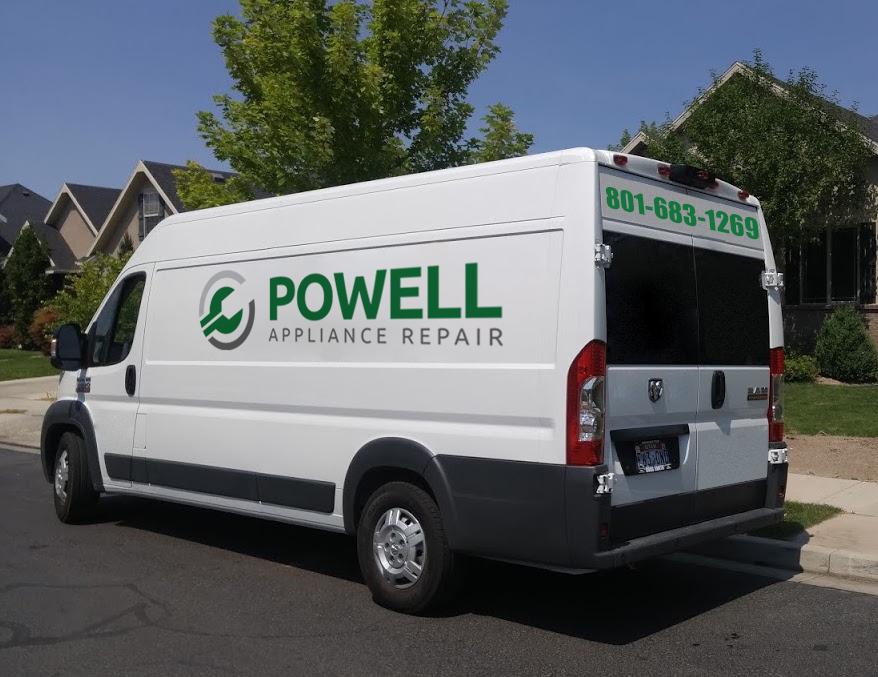 powell appliance repair van